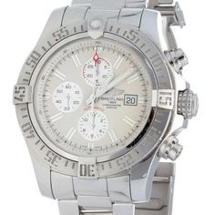 Breitling Super Avenger II A13371 48mm Steel Watch - Perfect Condition - Jollys Jewellers