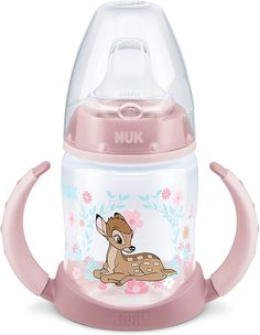NUK 10255370 Disney Classics First Choice Trinklernflasche Bambi 300 ml Muñeca Baby Alive, Bambi Baby, Baby Dolls For Kids, Best Baby Bottles, Disney Babys, Baby Doll Nursery, Baby Doll Accessories, Baby List, Trendy Baby