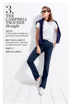 Webmail :: 3 pants you need: Martie, Campbell and introducing Teddie