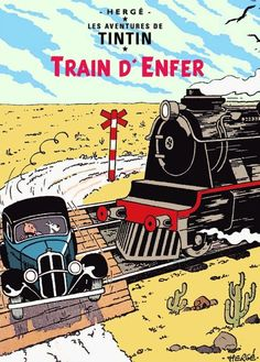 Train d'Enfer - Paso a nivel sin barreras