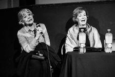 Actrices, en presentación Documental Viejos Amores teatro Condell  Valparaíso