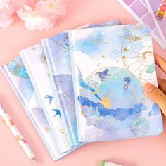 Products – Kawaii Pen Shop Journal Notebook, Journals, Notebooks, Kawaii Pens, Pen Shop, Parallel Universe, Cool Things To Buy, Objects, Celestial