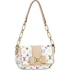 Louis Vuitton Annie MM Monogram Multicolore Canvas  43b9b64e049
