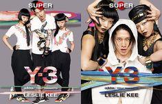 MIYAVI / AyaBambi / SUPER Y-3 PHOTOGRAPHED BY LESLIE KEE AT Y-3 FUKUOKA