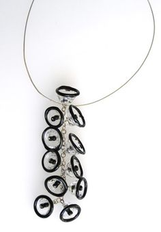Anat Sapir - glass, beads, pendant