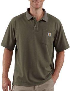 Carhartt Men's Contractors Work Pocket Polo, « Impulse Clothes