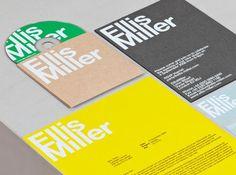 Ellis Miller architects - Identity Design by Cartlidge Levene