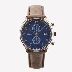 Armogan Regalia Watch, Blue C43 | Bespoke Post $220.00