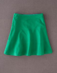I've spotted this @BodenClothing Wool Skater Skirt Emerald. Love this color, but I'm not sure it's long enough - not sure I should wear a miniskirt!
