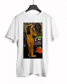 Paul Gauguin - The Moon and the Earth Paul Gauguin, Moon, Earth, Mens Tops, T Shirt, Fashion, Accessories, The Moon, Supreme T Shirt
