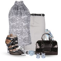 """Halter Top"" by mrsbro on Polyvore"