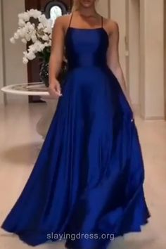 Shop one piece swimsuit online, you can get string, fashion and sexy one piece bathing suits and bikini for women on ZAFUL. Blue Ball Dresses, Royal Blue Formal Dresses, Blue Satin Dress, Royal Blue Bridesmaid Dresses, Royal Blue Prom Dresses, Pretty Prom Dresses, Satin Dresses, Royal Blue Long Dress, Royal Blue Outfits