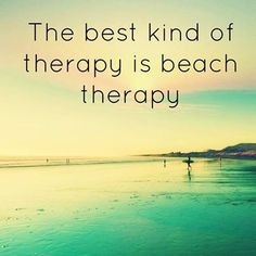Beach Therapy quotes photography summer quote beach ocean summer quotes