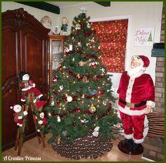 A Creative Princess: Christmas Curtain/Shade