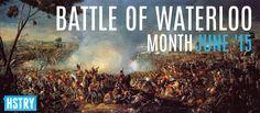 Battle of Waterloo Month on HSTRY