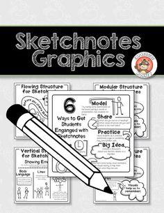 Sketchnotes freebie from Expressive Monkey.
