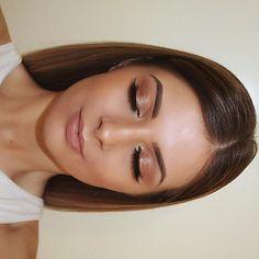 Wedding makeup, bridal makeup, gold eyeshadow, bronze makeup, natural makeup…