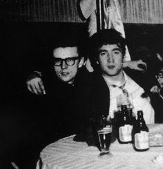 Stuart Sutcliffe and John Lennon