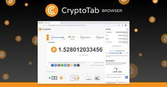 CryptoTab Browser is a special web browser with built-in mining features. Familiar Chrome user interface combined with extremely fast mining speed. Mine and browse at the same time! Free Bitcoin Mining, Bitcoin Mining Software, What Is Bitcoin Mining, Fast Browser, Web Browser, Make More Money, Earn Money, Marketing Digital, Blockchain