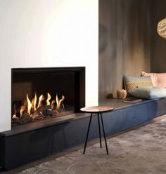 Home Decorating DIY Projects: kal fire fireplace - Wood Burning Fireplace Inserts Inset Fireplace, Wood Burning Fireplace Inserts, Home Fireplace, Modern Fireplace, Living Room With Fireplace, Fireplace Design, Fireplace Ideas, Fireplaces, Fireplace Windows