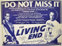 THE LIVING END (1992) Original Quad Movie Poster - Mike Dytri, Craig Gilmore