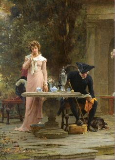 1883, by Marcus Stone (English 1840-1921)