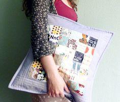 quilt pillow -