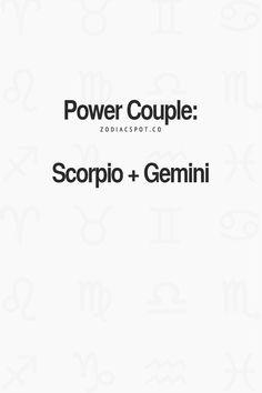 Gemini And Scorpio Compatibility, Gemini And Sagittarius, Gemini Traits, Scorpio Love, Gemini Quotes, Zodiac Signs Gemini, Zodiac Traits, Gemini Man, Scorpio Facts