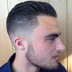 Haircut. slick