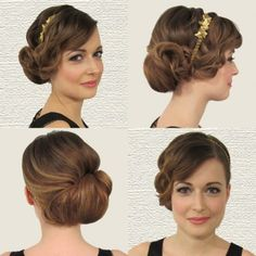 Coiffure ann es 20 on pinterest coiffures mariage and - Coiffure annee folle ...