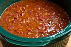 Slow Cooker Recipe for Louisiana Style Red Beans and Rice