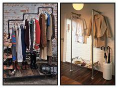 Clothing rack DIY inspiration