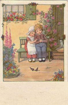 Pauli Ebner (1873-1949) — Old Post Cards (453x700)