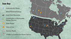 Bitcoin Mining in North America Bitcoin Mining in North America: A New Gold Rush in the New World Ruée Vers L'or, America America, North America, Hydroelectric Power, Mining Company, Renewable Sources Of Energy, Power Energy, Bitcoin Mining, Solar Power