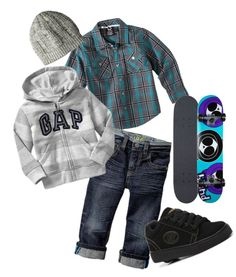 """""""skater inspired boys outfit"""" Need this, would look sooo cute on my T-Man. Baby Outfits, Cute Boy Outfits, Little Boy Outfits, Toddler Boy Outfits, Baby Kids Clothes, Kids Outfits, Toddler Swag, Toddler Boy Fashion, Little Boy Fashion"""