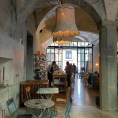La Menagere concept restaurant in Florence