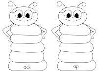 Caterpillar word families.  Free download!