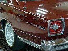 1965 #Ford #Galaxie 500 #coolcars QuirkyRides.com
