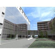 Wielka zmiana w szpitalu im. Skyscraper, Multi Story Building, Skyscrapers