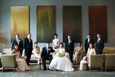 xoxoxo - do this with the bridal party upstairs with the awesome furniture