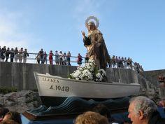 Fiestas de Santa Ana en Llanes, Asturias.