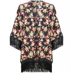 Zwarte kimono met bloemenprint http://www.loavies.com/fashion-nieuw/zwarte-bloemen-kimono.html