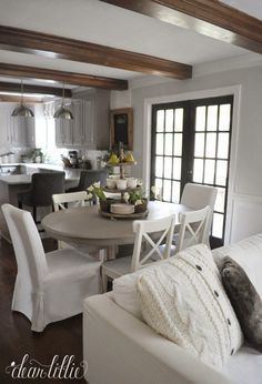 Open Family Room via dearlillie.com | House, Home, Hearth | Mommy Methodology