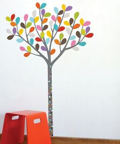 Take a look at this Colors in the Woods Wall Decal by ADzif on #zulily today!