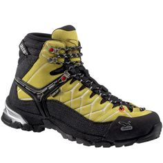 SALEWA Men's Alp Trainer Mid GTX Backpacking Boots...running from the hoard just got easier.