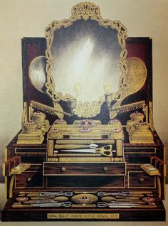 Asprey's ultimate Dressing Case that was entered into the Great Exhibition of 1851.