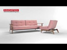 Splitback Frej sofa & Eik chair - YouTube Sofa Bed Video, Outdoor Sofa, Outdoor Furniture, Outdoor Decor, Convertible, Fitness And Beauty Tips, Diy Projects, Couch, Living Room