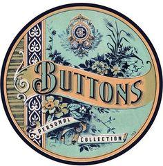 Beautiful Button Label!