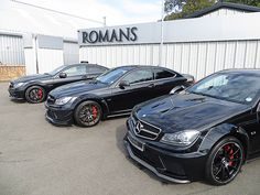C63 AMG Black Series and C63 507 Edition