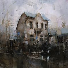 An Old Story by Tibor Nagy Oil ~ 20 x 20